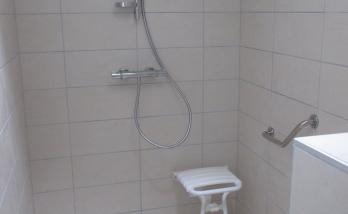 Création d'une salle de bain PMR à Mulhouse
