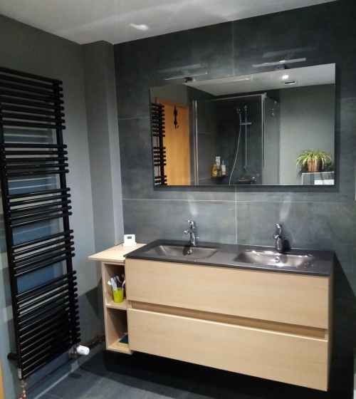 Rénovation de salle de bain à Sausheim