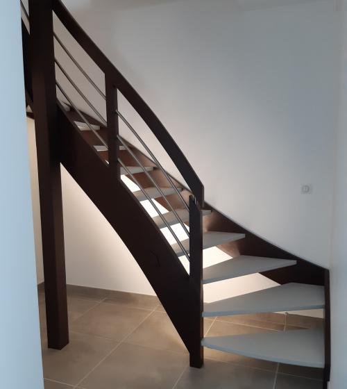 Escalier sur mesure à Saint Louis