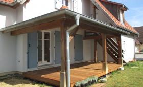 Terrasse bois à Habsheim