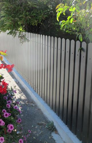Clôture thermolaqué à Hésingue