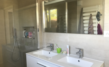 salle de bain, meuble vasque à Saint Louis