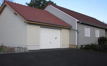 Pose d'un enrobé et création d'un garage à Altkirch