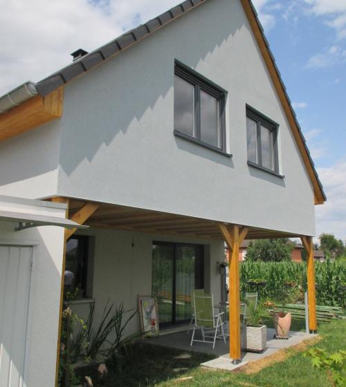 Extension bois à Blotzheim