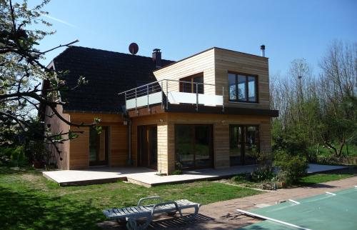 Extension bois sur 2 niveaux à Sierentz