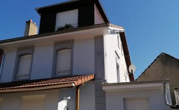 Extension et lucarne de toit à Mulhouse